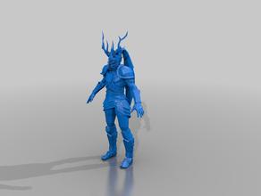 elven lineman - blood bowl - t-model bloodbowl elf lineman