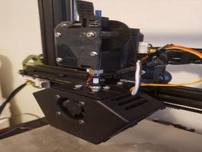 direct drive adapter for tevo tarantula modular x carriage