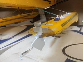 supercub float timone staffa carbon cub carri allegorici tagliate ala cub eflite float del timone rc aereo carri allegorici supercub