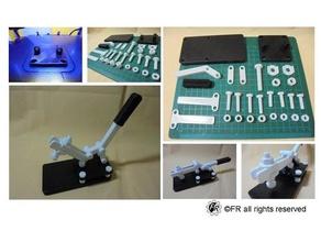 rapide à serrage rapide la pince rapide des outils à main l'écrou vis outils