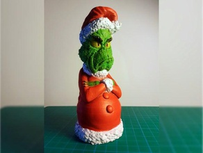 grinch christmas tree ornament animation cartoon cartoon character character christmas christmas decoration christmas ornament christmas tree dr seuss grinch grinch treetopper