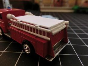 matchbox no 29 pumper truck hose ladder pipes assembly diecast diecast car diecast cars diecast car model lesney matchbox matchbox mod