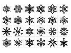 snowflake-1-19 chipboard chri christmas christmas decoration christmas decorations snowflake snowflakes snow flake vitinanka xmas xmas decoration xmas decorations