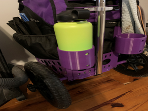 zuca disc golf cart 32oz cup holder cup holder disc golf disc golf cup holder zuca zuca disc golf