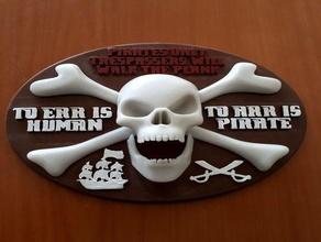 pirate art decoration emblem pirate pirate ship pirate sign pirate skull sign skull