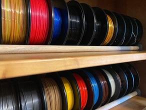 2 filament spool storrage spool rack filament rack spool holder filament filament holder filament spool filament spool holder spool spool rack spoolholder spool holder