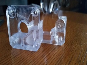 print glass clear cristal glass petg