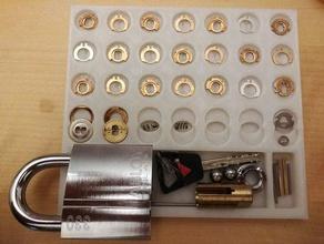 pinning tray disc detainer pin tumbler locks abloy assa assa 700 disc detainer lockpicking locksport pinning tray protec2 rekeying