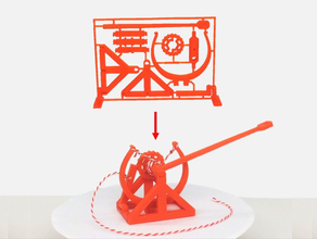 3d-printable davinci catapult gift card 3d printed catapult birthday birthday gift birthday present bow catapult christmas christmas gift christmas present christmas presents completely printable crossbow da vinci davinci desk catapult fidget toy gear gears gift gift card gift-card kit card kit model leonardo leonardo da vinci mechanical mechanical toy mechanics model kit moving moving parts part present print one print place rotating small small catapult spring spring loaded spring toy toy