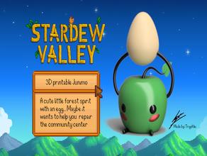 stardew valley junimo apple cute egg junimo junimos spirit stardew stardew valley video game