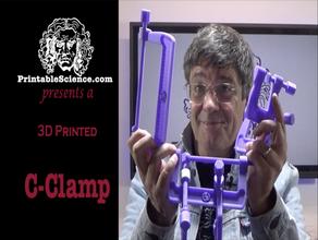 Imprimée en 3d c pince g-pince c-clamp la pince g-pince de la colle en place outil de l'étau