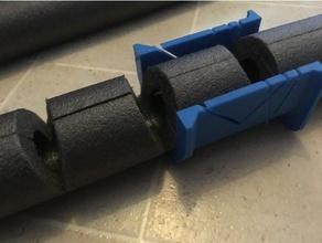 miterbox isolamento del tubo 45 gradi 90 gradi utensili a mano riscaldamento l'isolamento miterbox visto strumento strumenti il tubo