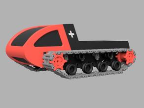 sno explorer tracked rc vehicle caterpillar crawler expedition explorer radio control rc car sno snow snowboard snowcat swiss tank tracks track tracked vehicle