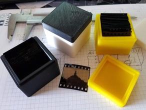 kleinbild dia k stchen 35 mm box dia diafilm diapositivfilm filmstrip slide film