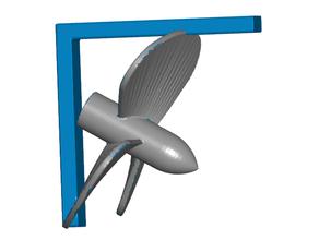 Boot propeller Regal Halterung Schraube Klebeband montieren Bootfahren propeller Regal Regal Halterung Regal montieren Regal Unterstützung