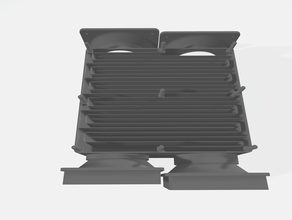 air heat exchanger - dual system ac unit cooler fan heat exchanger