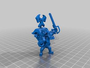 flashgitz leader - bloody boy 40k orc warhammer warhammer 40k