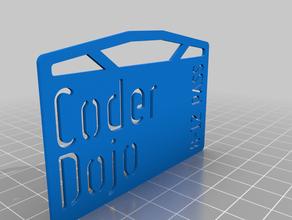 coder dojo pass card coding dojo pass