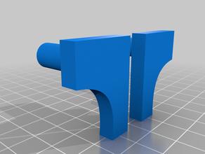 simple wingholder impreso en 3d f4u corsair