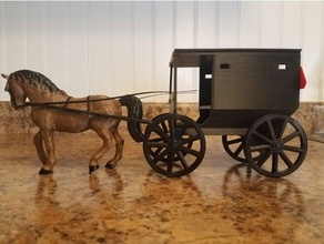 amish buggy amish amish buggy animal art buggy horse miniature wheel