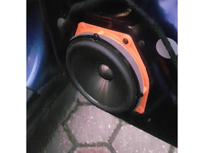 mini cooper front speaker adapter 165mm adapter mini cooper mini cooper s original mini cooper speaker speaker mount