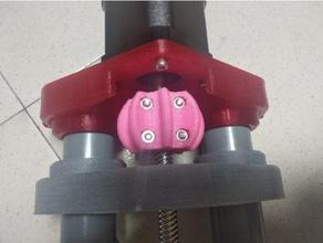 stepper motor 5mm shaft 8mm threaded rod coupler 5mm 8mm coupler coupler rigged coupler self centering self center coupler stepper coupler