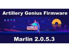 artillery genius firmware marlin 2053 artillery artillery3d artillery genius babystepping genius marlin marlin 20 marlin 201 marlin firmware pid