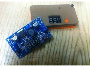 dc-dc lm2596 enclosure features button cable cable management converter dc-dc dc-dc converter electronics enclosure enclosure fix fixation lm2596 lm2596s lm2596s dc-dc lm2596 module lm2596 mount module modulelm2596 pushbutton raspberry pi raspberry pi case wall mount