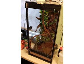 aquarium terrarium conversion kit -- 20 gal high crested gecko gecko reptile reptile terrarium terrarium terrarium kit