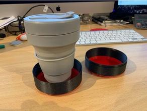 stojo collapsing reusable beaker case coffee coffee mug mug reusable