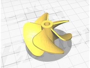 40mm 5 Blatt Schiffsschraube Klinge Boot prop propeller rc Boot Schraube