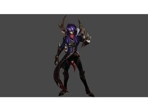 milo de escorpião reaper modelo saint seiya