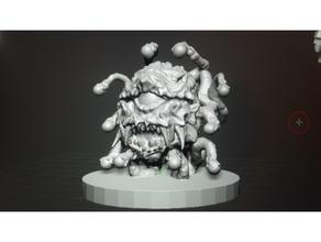 beholder alien beholder creature dnd dndmonster dnd miniature dungeons dragons eye beholder monster