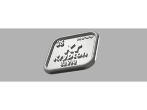 periodic table krypton krypton periodic element periodic table