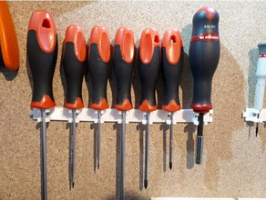 stable screwdriver support - support tournevis stable holder porte-outil screwdriver screwdriver holder stable support