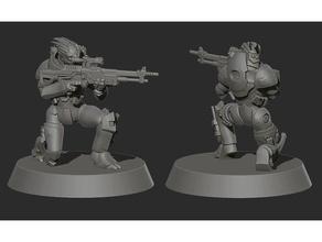 garrus kütle etki modeli 3d baskı karakter ekran şekil garrus silah masseffect mini minyatür model canavar tüfek scifi statik Heykeli heykel strateji oyunu masa üstü