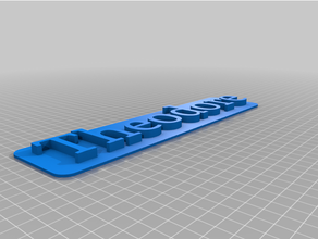theodore 3d nameplate 3d nameplate 3d nametag custom nameplate custom nametag nameplate nametag nominal plaque