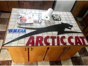 arctic cat logo arctic cat atv cat quad snowmobile vtt