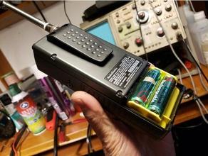 wiederaufladbare gelb Batterie Halter Fach radio shack pro 79 82 93 95 96 97 106 164 404 649 651 radio Scanner Batterie Halter radioshack scanner