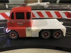 carrera d132 dépanneuse plateau base digital 132 extrudeuse répondeur slotcar camion