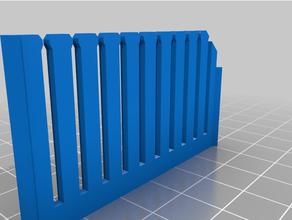 ponticello filo rack hdx organizzatore bordo compartimenti
