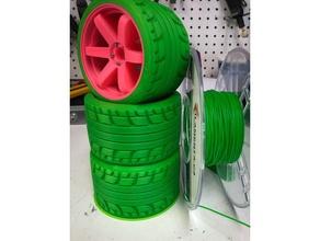 openrc truggy - falken tire volk te-37 daniel noree openrc openrcproject openrc truggy tire truggy wheel
