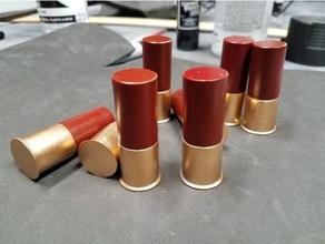 12 gauge shotgun shell prop 12 ga shotgun cosplay accessory cosplay prop cosplay weapon movie prop prop props shotgun shotgun shell