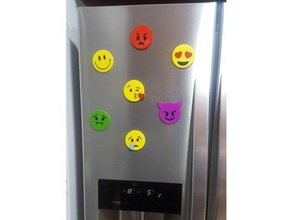 adorno nevera - emojis adorno cocina emoji emoticon emoyi fridge fridge magnet iman kitchen magnet nevecon nevera ornament printable emojis refrigerador simbolo