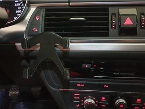 smartphone Auto audi a6 4g Halter galaxy s9+ iphone 8