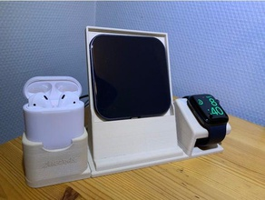 apple watch iphone airpods stand - apple devices dock apple watch apple watch dock apple watch stand iphone phone holder phone stand smartphone holder smartphone stand star wars tlphone watch watch holder watch stand