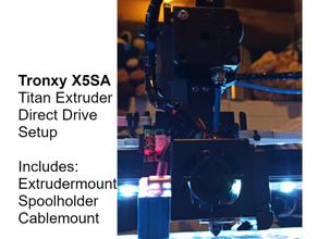 tronxy x5sa titan extruder direct drive setup Lager teilen bowden direkt direct drive direct drive extruder extruder tronxy tronxy x5sa