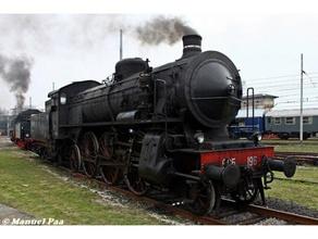 italiano locomotiva vapore gr685 italiano locomotiva modello vapore locomotiva vapore treno