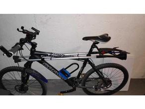 bicycle crutch holder crutch crutch holder