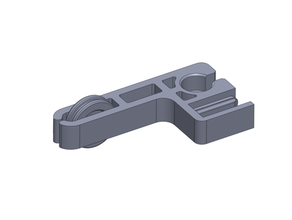 ender 3 cr10 filament guide & z-axis support combo - 2020 extrusion mount - support material - disassembly required 2020 extrusion 2020 mount 608 bearing accessories adjustment knob bearing cr-10 cr10 creality creality cr-10 creality cr10 creality ender 3 ender ender3 ender 3 ender 3 upgrade support support upgrade zaxis axis